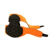 Lufkin Knee Protector Pads Pair Orange Hi-Viz LKPF