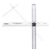 Johnson T-Square 1350mm Metric Aluminum Adjust-A-Square® ADS1350