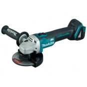 "Makita 18v LXT 5"" Cordless Angle Grinder with ThumbLock & Brushless Motor DGA504"