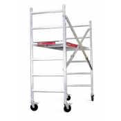 Intex Industrial Rated Aluminium Folding Scaffold 225kg SPA100