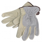 Gloves Leather Riggers SafeCorp