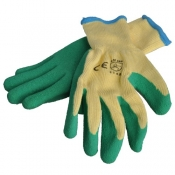 Gloves Poly Cotton Latex SafeCorp