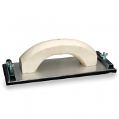 Hand Sander Small Aluminium Base Wooden Handle