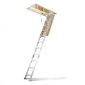 Werner Attic Ladder 3.18m to 3.66m Aluminium Ceiling AH2512AZ