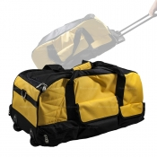Tool Bag With Wheels + Handle YELLOW Suits 6-8 Piece Cordless Kits BAG-YELL
