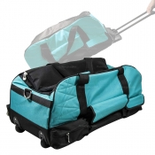 Tool Bag With Wheels + Handle GREEN Suits 6-8 Piece Cordless Kits BAG-GRN