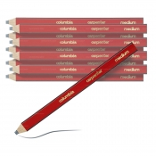 Columbia Carpenter's Pencil Red Medium 10 Piece 611400MED