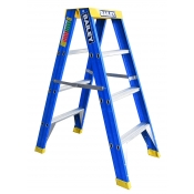 Bailey Ladder Double Sided Big Top 0.9m 3 Step Fibreglass PRO PUNCHLOCK FS13723