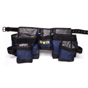 Irwin Tool Rig Apron 3 Pouch Synthetic IR-490-P-1