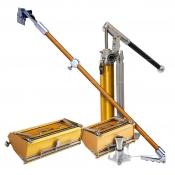 TapeTech Flat Box Combo 2x Flat Boxes 1x Box Handle 1x Loading Pump TFBC