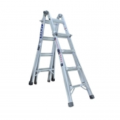 Bailey 2.3m/4.5m 135kg Trade Multi Purpose Extendable Step Ladder FS13206