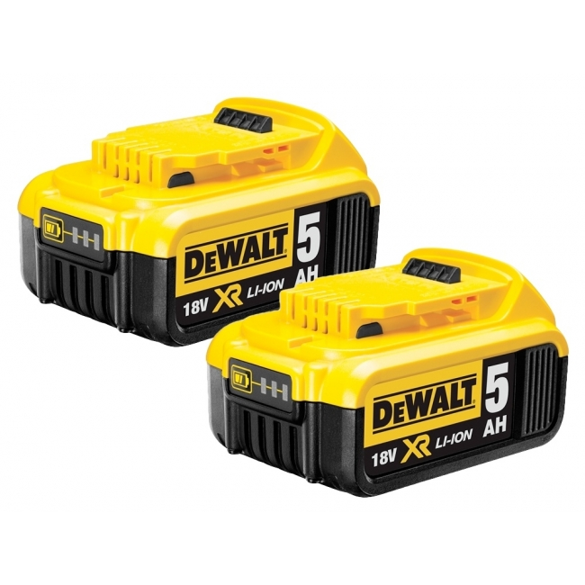 Dewalt Planer Brushless Cordless Kit 2x 5ah Batteries