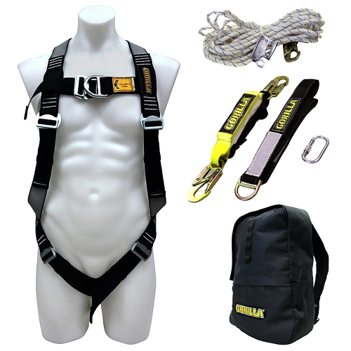 Gorilla Safety Harness Roofers Kit GH001
