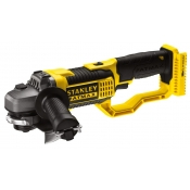 Stanley Angle Grinder 125mm 18v Cordless Compact 8500RPM FMC761B BARE TOOL