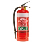 MegaFire Fire Extinguisher Portable 4.5kg DRY CHEMICAL POWDER MF45ABE