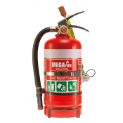 MegaFire Fire Extinguisher Portable 2.5kg DRY CHEMICAL POWDER MF25ABE