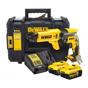 Dewalt Collated Screwgun 18v Brushless Drywall DCF620B +2x 5Ah Battery +Charger