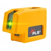PLS 3 Green Beam Plumb and level point-to-point alignment laser