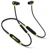 ISISOtunes™ Xtra Bluetooth Noise-Isolating Earbuds Black/Yellow IT-02