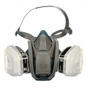 3M Respirator Paint Pro Mask COOL FLOW with Quick Latch 6502QLPA1