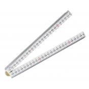 Intech Folding Rule 1m Beveled Edge Ruler BTFRPRO
