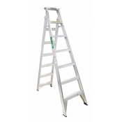 Bailey Ladder Trade 2.1/3.8m 150kg Folding Dual Purpose FS13433