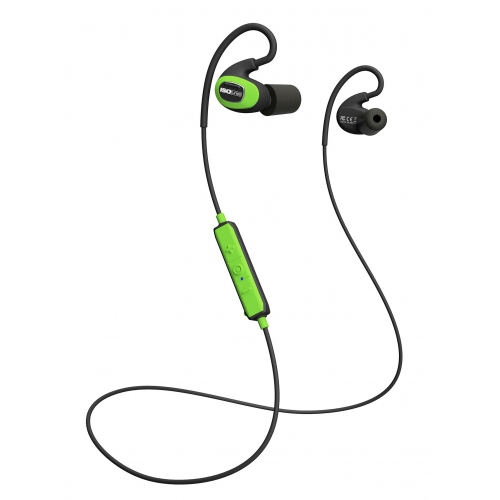 ISOtunes Noise-Isolating Earbuds Pro Industrial Bluetooth 4.1 Green/Black IT-08