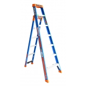 Bailey Ladder SLS 3-In-1 7-11 Step Leaning Straight 2.1-3.5m FIBERGLASS FS13885