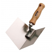Hyde Corner Finishing Tool Wood Handle 09411