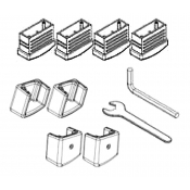 Werner Replacement Feet Kit For Werner MT & Bailey BXS Series Ladders SP15-011AZ