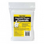 Uni-Pro 1080 Disposable Hooded Coveralls 1 Piece LARGE 1080