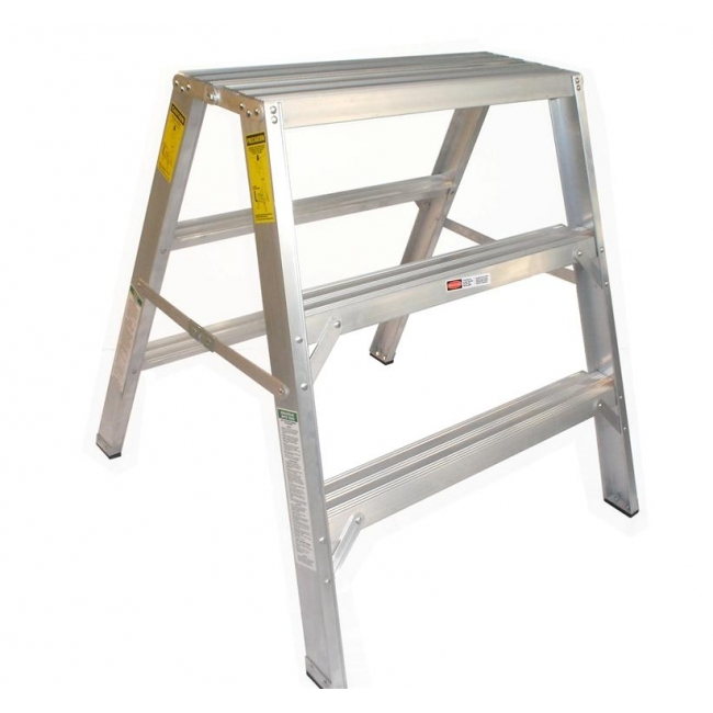 Builders Step Up Stools 900mm 3 Step  sc 1 st  Plastering Supplies : step up stools - islam-shia.org