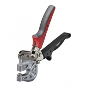 Malco PL1 Punch Lock Stud Crimper - Black and Red