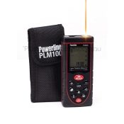 Powerline PLM100 100 metre Laser Distance Measurer