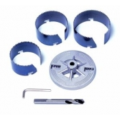 5 Piece Hole Saw Kit