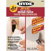 Hyde Tools  125mm X 375mm Wet & Set 30-Minute Wall & Ceiling Repair Patch