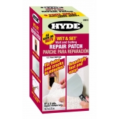 Hyde Tools  125mm X 2.7m Wet & Set 30-Minute Wall & Ceiling Repair Patch