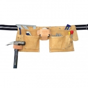 Irwin (Rooster) Leather Carpenter's Apron REI-499-4