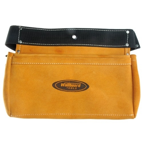Suede Leather Nail Bag 310x200mm 2 Pocket