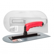 Walboard Trowel 280mm Plastic Oval With 1 Square Corner WBT PTO-280