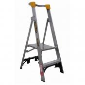 Gorilla 0.6m 150kg Platform Aluminium Industrial Ladder PL002-I