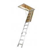 Bailey Attic Ladder 3.18m to 3.66m 150kg  Aluminium Ladder FS13561