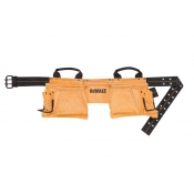 Dewalt DG5372 12 Pocket Carpenter's Suede Apron Nail Tool Bag