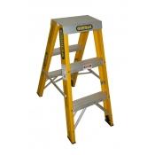 Gorilla 0.9m 150kg Double Sided Fibreglass Ladder FSM003-I