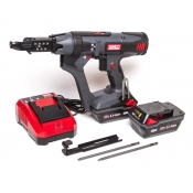 """Senco Screwgun 2"""" Cordless + 2x Batteries + Charger DuraSpin Auto-Feed Drywall DS215-18V"""