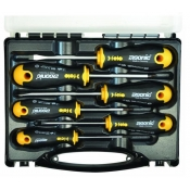 Felo 6 Piece Slotted Phillips Ergonic Screwdriver Set 40020636