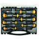 Felo 6 Piece Ergonic Slotted and Phillips Head Screwdriver Set 40020636