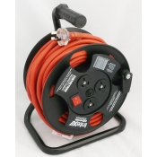 25metre Extension Lead Reel with 3 Outlets