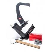 Senco FloorPro 50 25-50mm Flooring Stapler Secret Nailer + Mallet