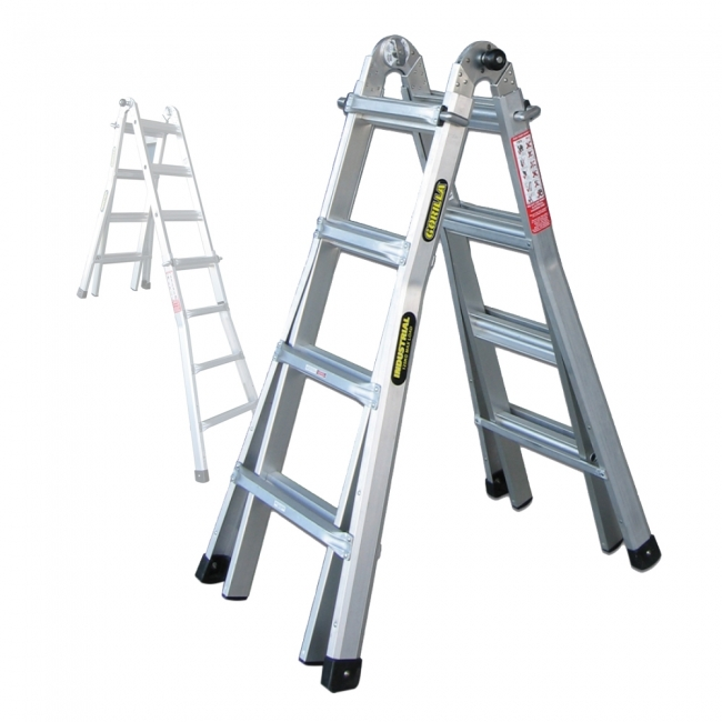 Gorilla 1.2-2.1m 120kg A Frame Mighty 15 Multi-Purpose Aluminium ...